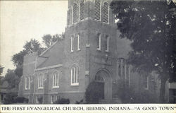 The First Evangelical Church Postcard
