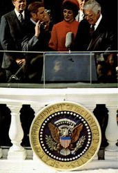 Walter Mondale Takes The Oath As Vice-President Of The United States
