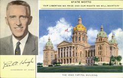 Leo A. Hoegh Postcard