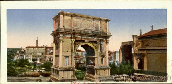 Arco Di Tito Roma Italy