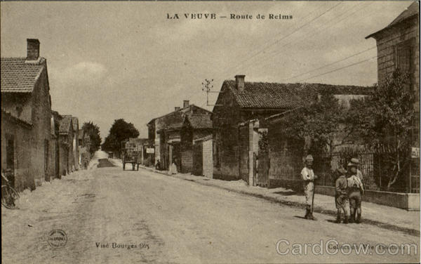 La Veuve Route De Reims France