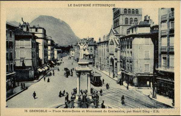Le Dauphine Pittoresque Grenoble France