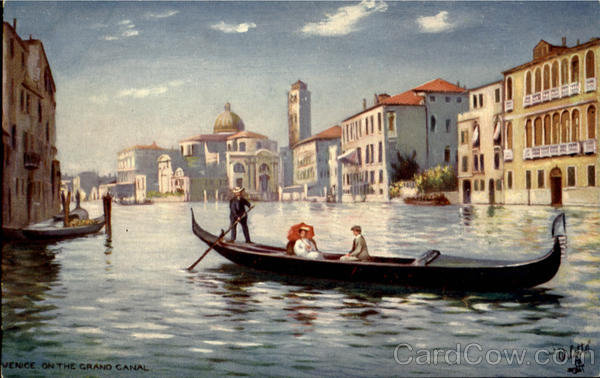 Venice On The Grand Canal France