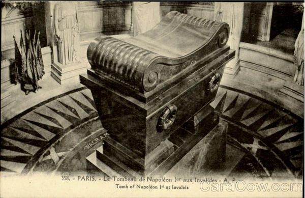 Tomb Of Napoleon 1st At Invalids Paris France