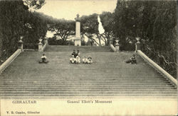 General Elitto's Monument Postcard