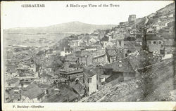 A Bird's Eye View Of The Town Postcard