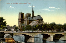 Church Of Our Lady Postcard