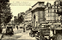 The Boulevard, St. Marin and St Denis Gates