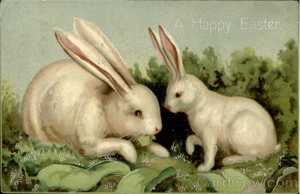 A Happy Easter Bunnies