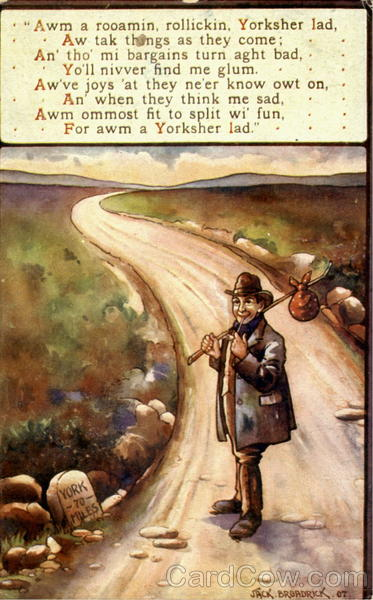 A Yorshire Lad Poems