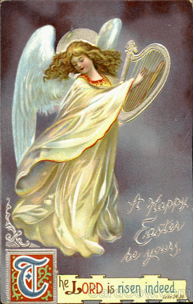 A Happy Easter Be Yours Angels