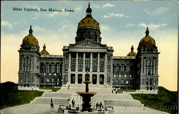 State Capitol Des Moines Iowa