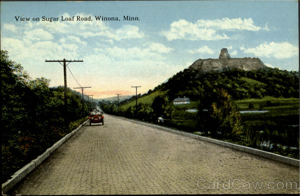 View On Sugar Loaf Road Winona Minnesota
