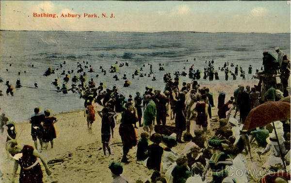 Bathing Asbury Park New Jersey