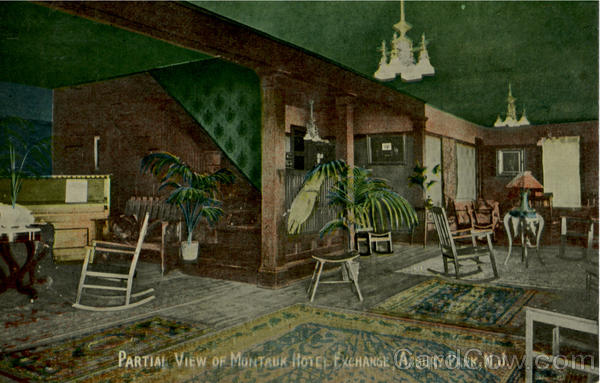 Partial View Of Montauk Hotel Asbury Park New Jersey