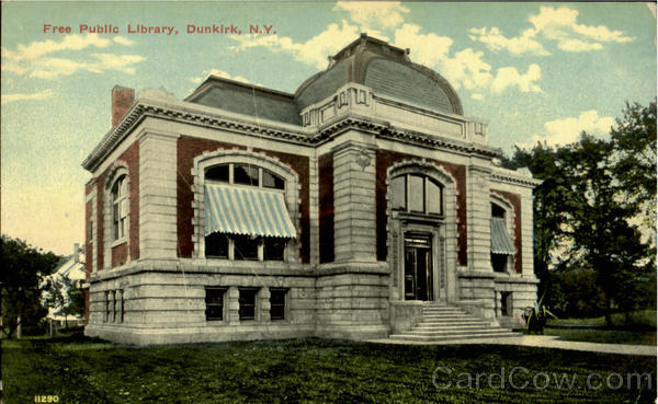 Free Public Library Dunkirk New York