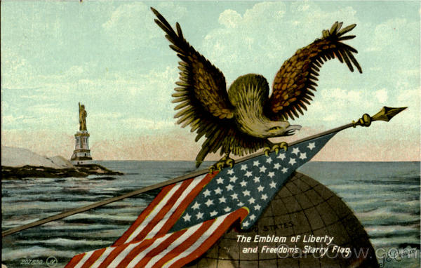 The Emblem Of Liberty J.E. Crossley Patriotic