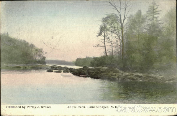 Job's Creek Lake Sunapee New Hampshire