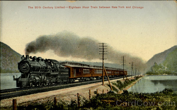 The 20Th Century Limited Trains, Railroad