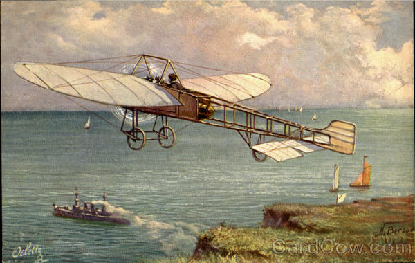 Bleriot Aeroplane Tuck's Oilette Series Aircraft