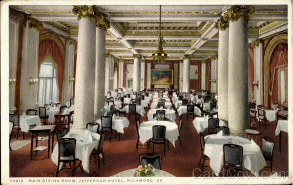 Restaurants Near Jefferson Hotel Richmond