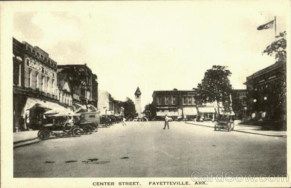 Center Street Fayetteville Arkansas