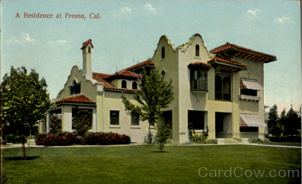 A Residence At Fresno California