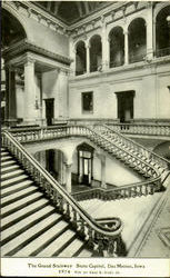 The Grand Stairway State Capitol