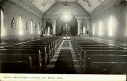 Interior Sacred Heart Church