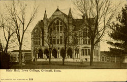 Blair Hall, Iowa College