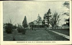 Residence Of Hon. W.P. Hepburn