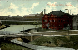 Steel Company Office Postcard