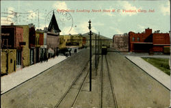 Broadway Looking North From M. C. Viaduct Postcard