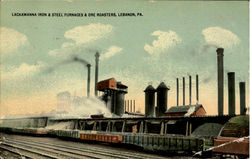 Lackawanna Iron & Steel Furnaces & Ore Roasters