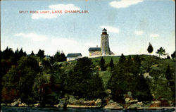 Split Rock Light Postcard