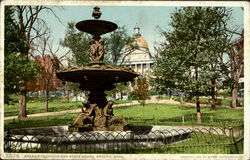 Brewer Fountain And State House