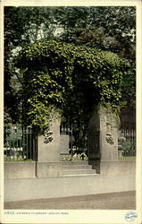 Entrance To Granary Postcard