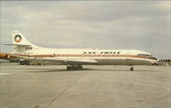 Lan-Chile Sud Caravelle 6R Aircraft