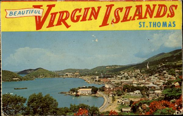 Beautiful Virgin Islands St. Thomas Caribbean Islands