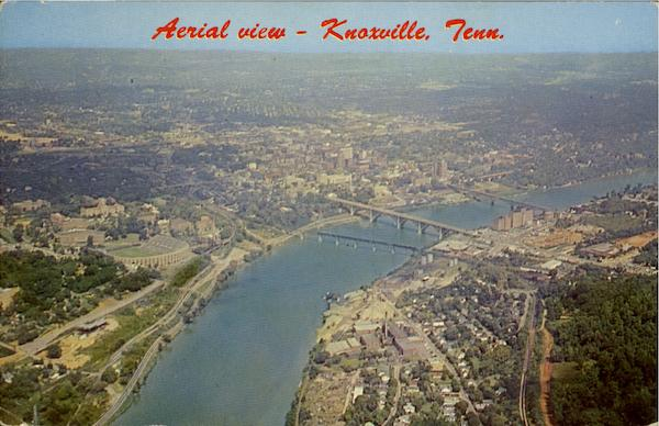 Aerial View Knoxville Tennessee