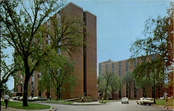 Reinow Residence Hall, University Of Iowa Iowa City