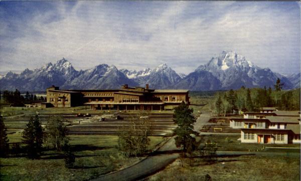 Jackson Lake Lodge ~ Grand Teton National Park - YouTube