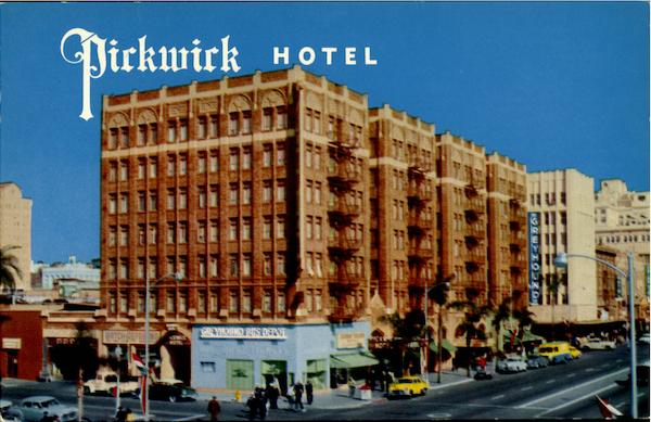Pickwick Hotel, Broadway at First Avenue San Diego California