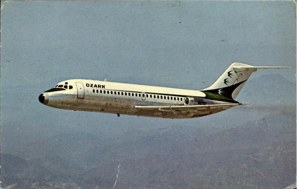 The New Ozark Dc-9 Aircraft