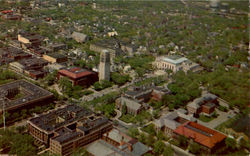 Aerial View Of The Mall, Univesity of Michigan