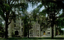 Warner Hall, Oberlin College Postcard