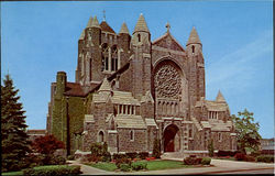 The Cathedral Of The Blessed Sacrament Postcard