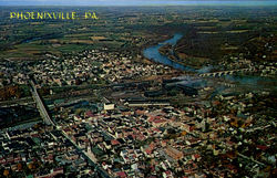 Aerial View Of Phoenixville