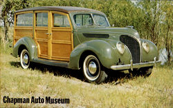 1938 Ford Woody Wagon Postcard
