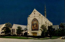 Alice Millar Chapel, Northern Illinois University Postcard